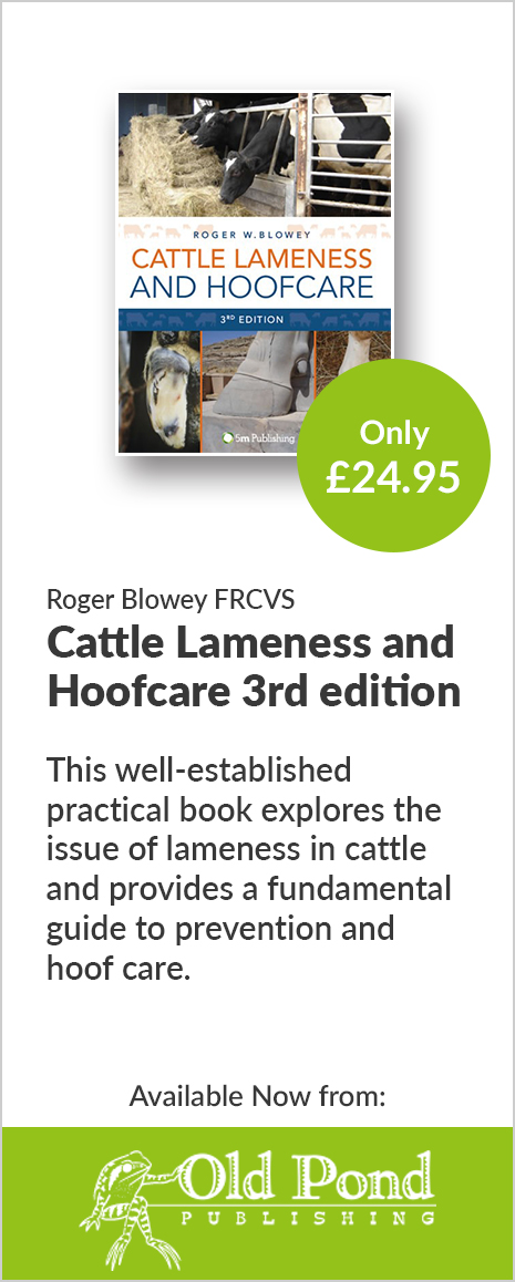 Cattle Lameness and Hoofcare 3rd Edition